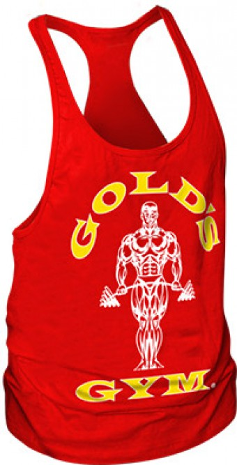 Tanktop Gold's Gym Red (USA)