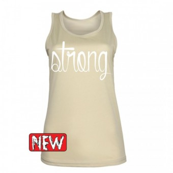Desert strong white hemd dames