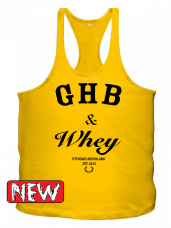 GHB yellow/black singlet