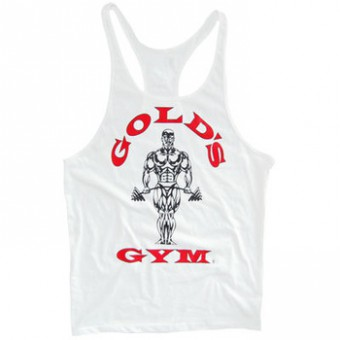 Tanktop Gold's Gym White (USA)