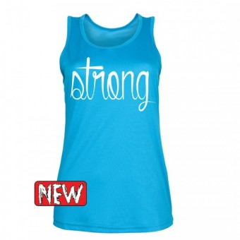 Light blue strong white hemd dames
