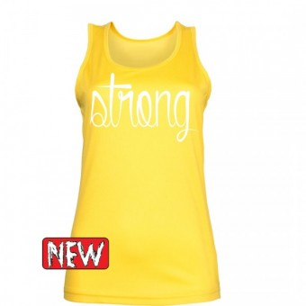 Yellow strong white hemd Dames