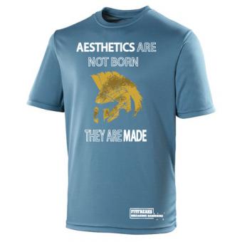 Aesthetics poly shirt marine blue