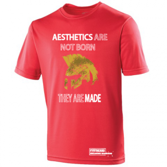 Aesthetics Poly Shirt Red