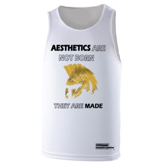 Aesthetics  poly hemd White
