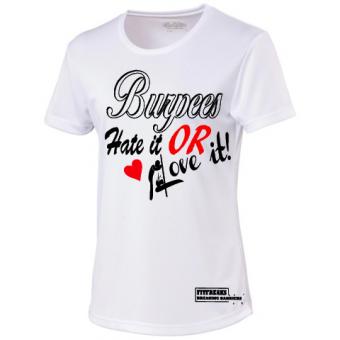 Burpees White shirt dames