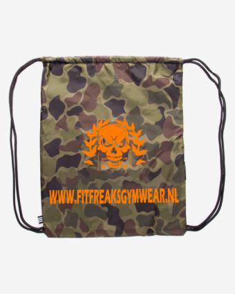 Fitfreaks bag Camo/Orange