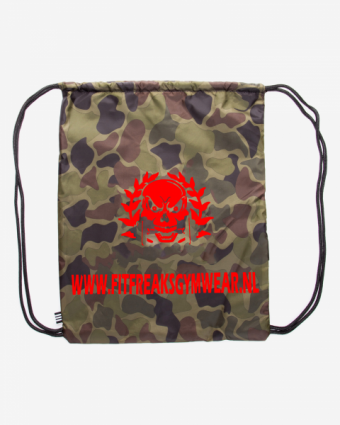 Fitfreaks bag Camo/Red