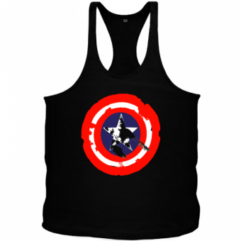 Tanktop Captain America Damaged