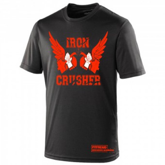 Iron Crusher Shirt Black/Orange