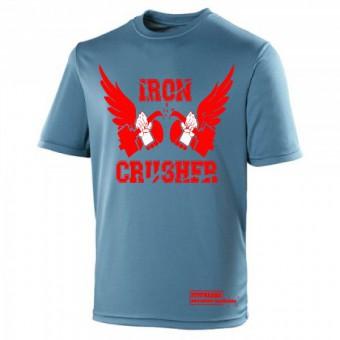 Iron Crusher Shirt Poly Marine Blue