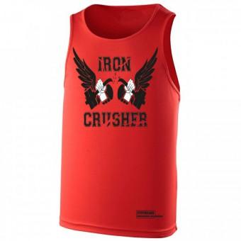 Iron Crusher poly hemd red