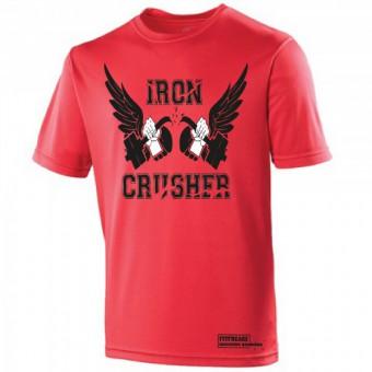 Iron Crusher Poly Shirt Red