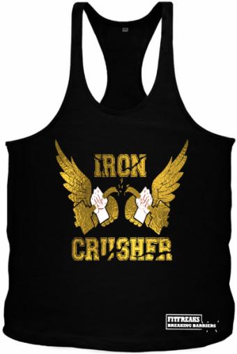 Iron Crusher Tanktop Gold