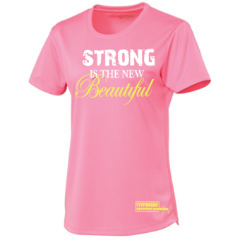 Strong is the new Beautiful Pink