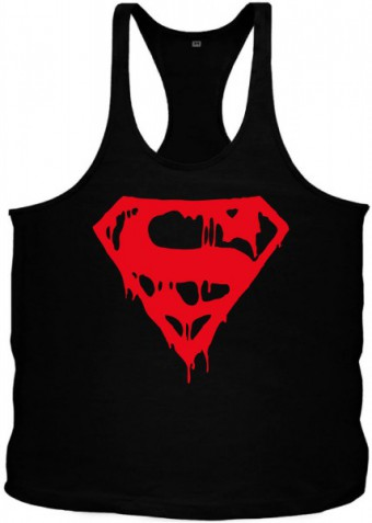 Tanktop Superman Blood Red