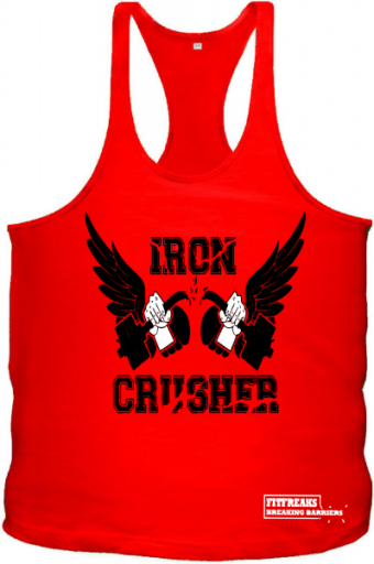 Iron Crusher Tanktop Red