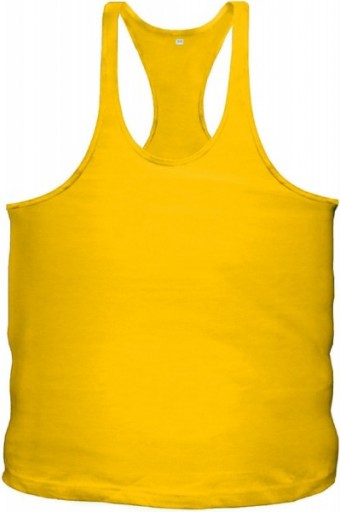 Yellow singlet blanco