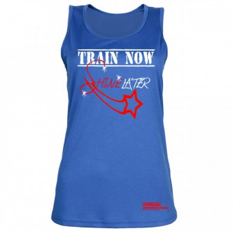 Train Now Shine Later Blue